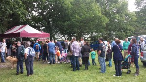 The crowds just kept coming to ride with WDMES during the Cheshire Steam Fair!