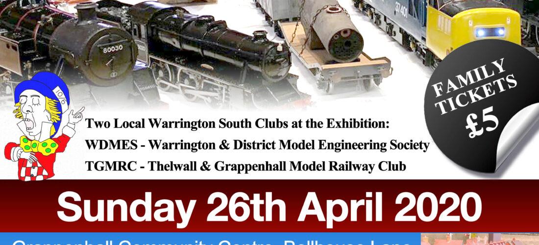 Warrington Model Engineering and Railway Exhibition 2020